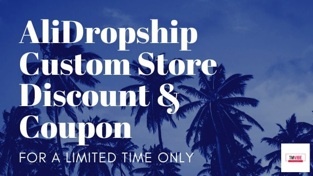 AliDropship Custom Store Discount Coupon