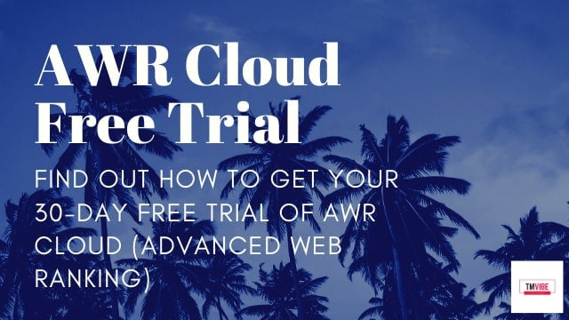 Advanced Web Ranking Free Trial