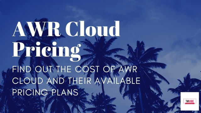Advanced Web Ranking Pricing - Cost of AWR Cloud